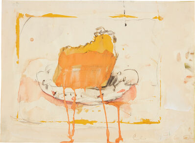 Claes Oldenburg, 'Cake Slice', 1962