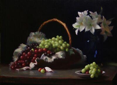 Lynne B. Mehlman, 'Abundance of Grapes'