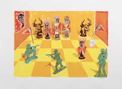 Richard Mudariki, 'Africa's Chess', 2018