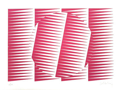 Victor Debach, 'Fuchsine Composition', 1970s