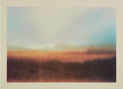 Gerhard Richter, 'Teydelandschaft', 1971