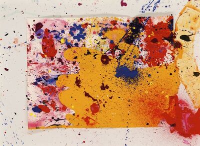 Sam Francis, 'Liverpuddling', 1990