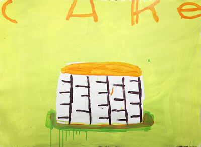 Gary Komarin, 'Cake (Lime & Orange)', 2018