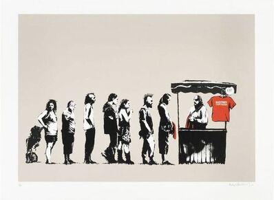 Banksy, 'Festival (Destroy Capitalism)', 2006
