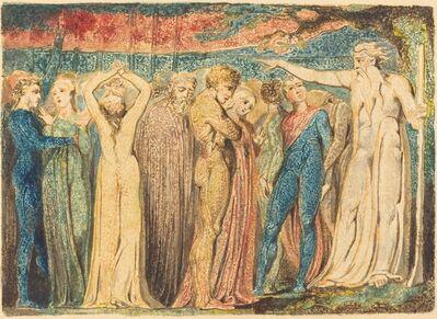 William Blake, 'Joseph of Arimathea Preaching to the Britons', 1794-1796