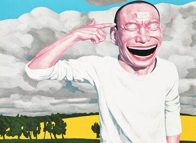Yue Minjun, 'Untitled (from The Giants of Contemporary Chinese Art Portfolio)', 2005