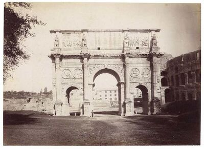 Unknown, 'Arch of Constantine', 1870