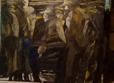 ABDELRAZEK OKASHA, 'The 3rd class train ', 2018-2019