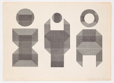 Ruth Wolf-Rehfeldt, 'Figuration (3) IV', 1984