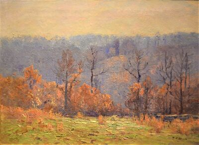 "Theodore Clement ""T.C."" Steele, 'Brown County Autum', 1926"