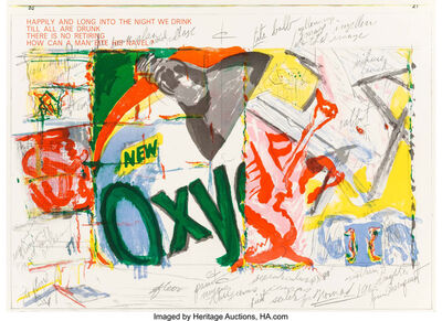 James Rosenquist, 'Oxy, from 1 Cent Life Portfolio', 1964