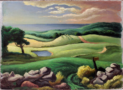 Thomas Hart Benton, 'Keith Farm (double-sided work) ', 1951