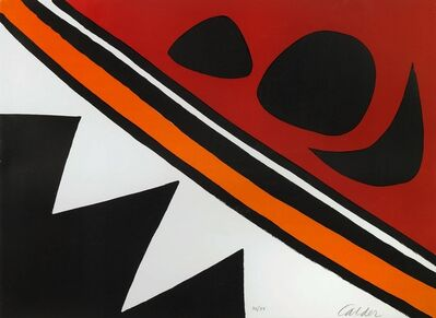 Alexander Calder, 'Dents de Scie', 1969