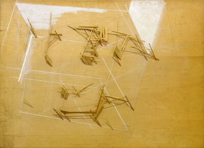 Tadashi Kawamata, 'P.S.1 Project Plan no.1 01', 1984