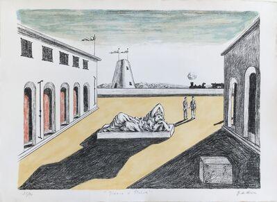 Giorgio de Chirico, 'Piazza d'Italia'