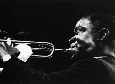 Adger Cowans, 'Louis Armstrong, Newport Jazz', 1961