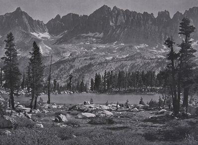 Ansel Adams, 'Kaweah Peaks from Little Five Lakes', 1939