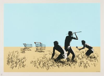 Banksy, 'Trolleys (Colour) - Signed ', 2007