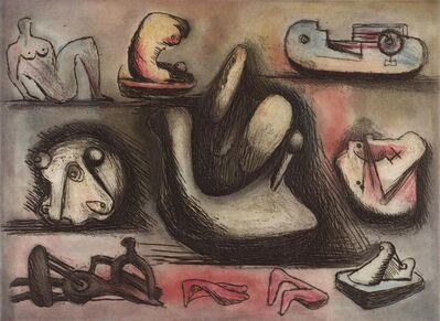 Henry Moore, 'Sculptural Ideas 6', 1980