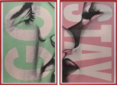 Barbara Kruger, 'Stay/Go', 2007