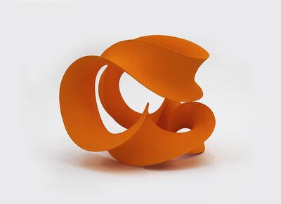 Merete Rasmussen, 'Interwoven Orange', 2016