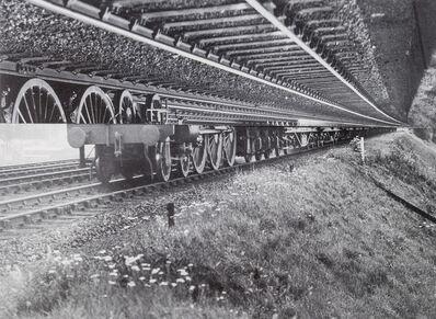 John Stezaker, 'Lost Tracks II', 1976