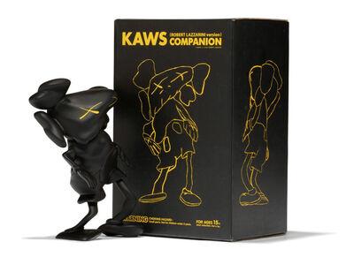 KAWS, 'Companion (Black)', 2010