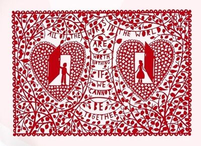 Rob Ryan, 'All Of The Words In The World', 2010