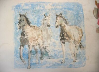 Nicole Charbonnet, 'Horses I'