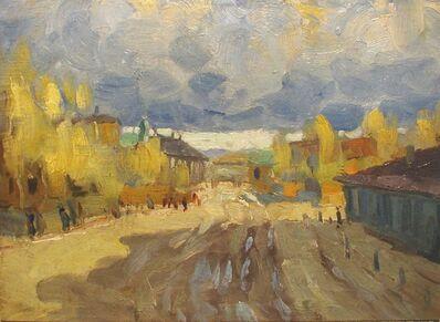 Vasily Leontevich Martynov, 'Village Road'