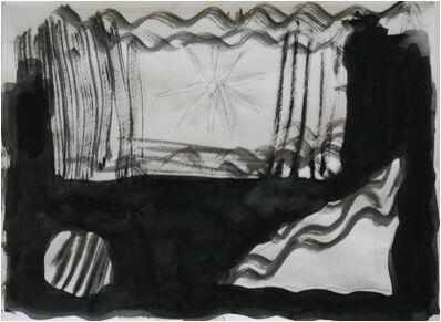 Norbert Prangenberg, 'Untitled (Lanscape in black and white)', 1989-1990