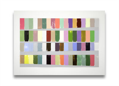 Debra Ramsay, 'A Year of Color, Adjusted for Day Length', 2014