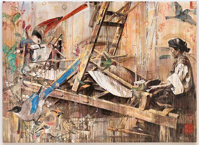 Hung Liu, 'Loom', 1999