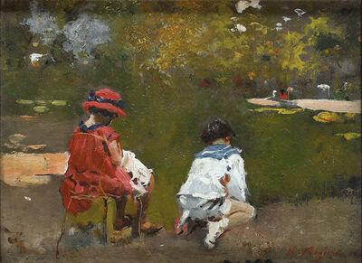 Raffaele Ragione, 'Into the Parc Monceau'