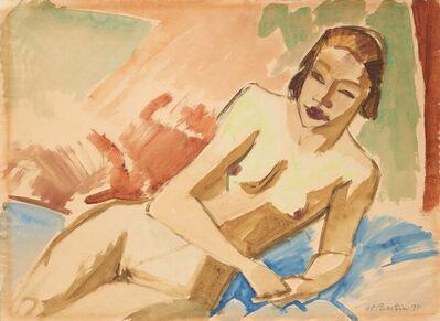Max Pechstein, 'Weiblicher Akt', 1921