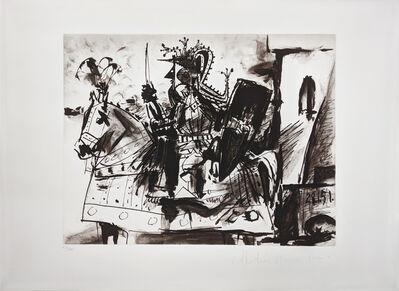 Pablo Picasso, 'CAVALIER EN ARMURE', 1979-1982
