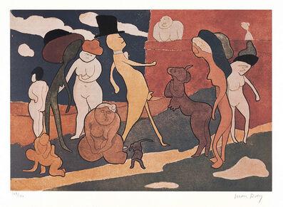 Man Ray, 'Promenade (A. 44)', 1970