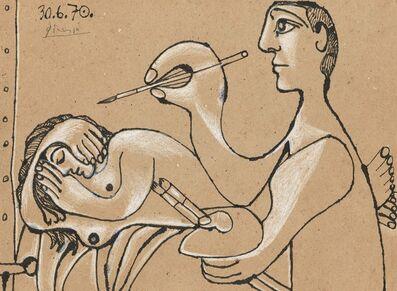 Pablo Picasso, 'The Artist and his Model (Le peintre et son modèle)', 1970