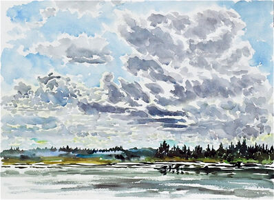 Catherine Perehudoff, 'Clouds Moving Across the Lake', 2011