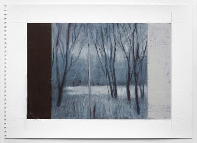 Adam Straus, 'Winter: Black & Grey', 2013