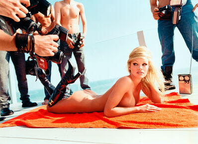 David LaChapelle, 'Pamela Anderson: Voluptuous Attentions', 2001