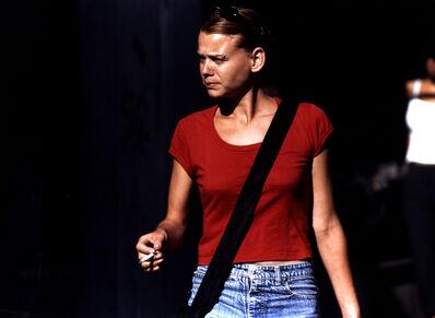 Beat Streuli, 'Tel-Aviv', 1999