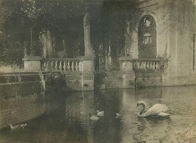 Jozef Emiel Borrenbergen, 'Een Zonnig Hoekje (A Sunny Corner)', 1924/1924