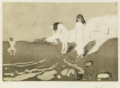 Edvard Munch, 'Badende kvinner.', 1895