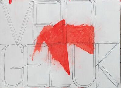 Klaas Vanhee, 'Untitled (veel geluk)', 2019