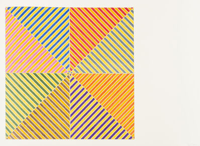 Frank Stella, 'Sidi Ifni',  1973