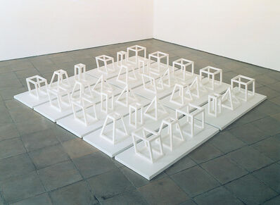 Sol LeWitt, 'Geometric Structures, Three Part Series', 1979