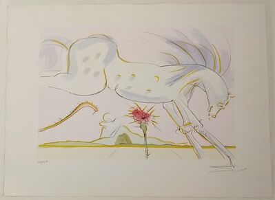 Salvador Dalí, 'The Horse And The Wolf', 1974