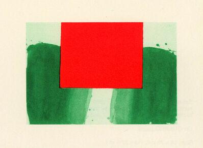 Alfons Borrell, 'Espais 6', 1990