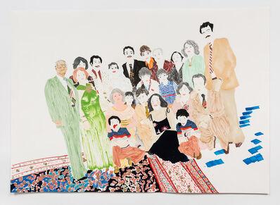 Elham Rokni, 'The Wedding Guests (The Abdis)', 2015